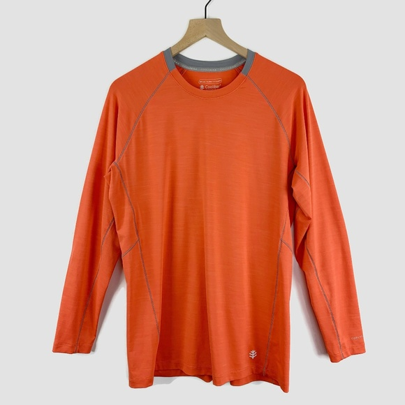 Coolibar Other - Coolibar Long Sleeve Workout Shirt UPF 50+ Medium